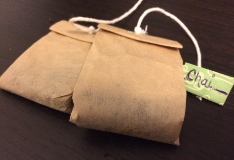 Chai Tea Chick; DIY tea bags